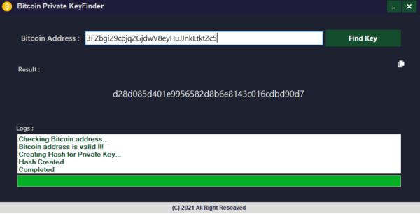 bitcoin-private-key-finder